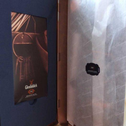 Glenfiddich vloeipapier