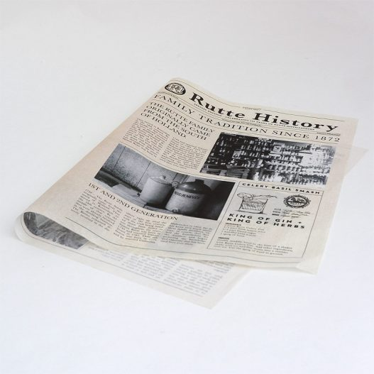 bedrukt vloeipapier