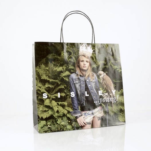 Paper carrier bag Sisley Young