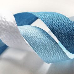 Smooth cotton ribbon