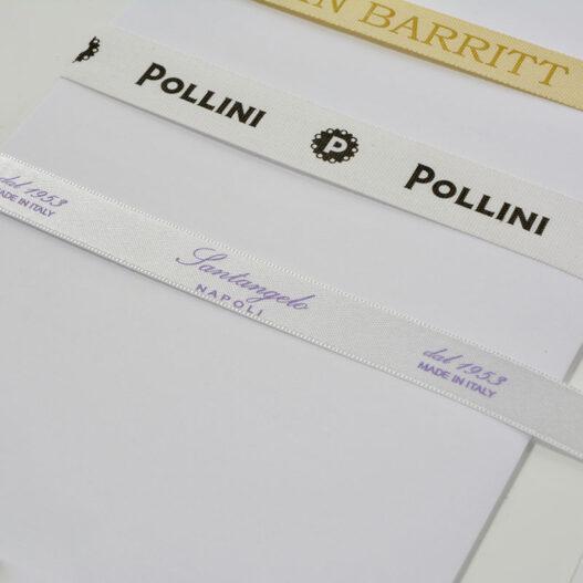 printed ribbon satin