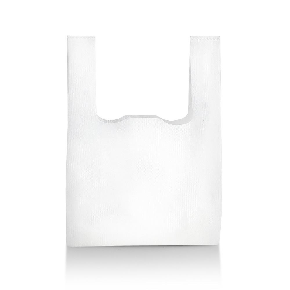 artipack non woven hemddraagtassen wit onbedrukt