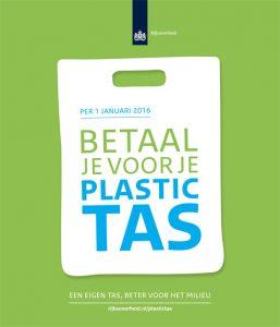 Verbod gratis plastic tas