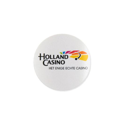 ronde papieren etiketten op rol opdruk full colour digitaal HP indigo