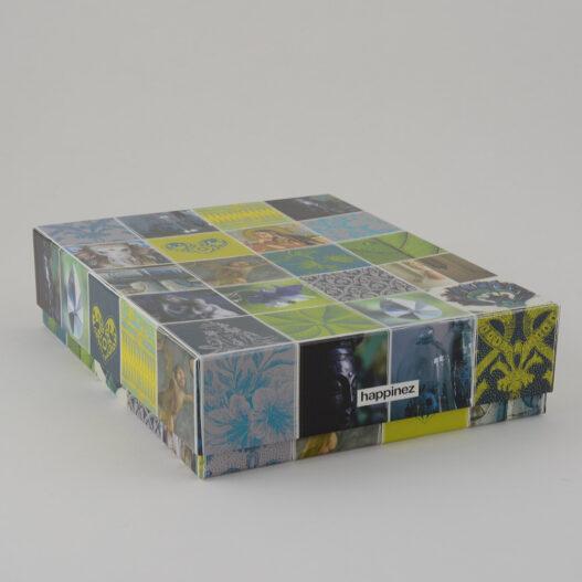 Geschenkdoos deksel karton