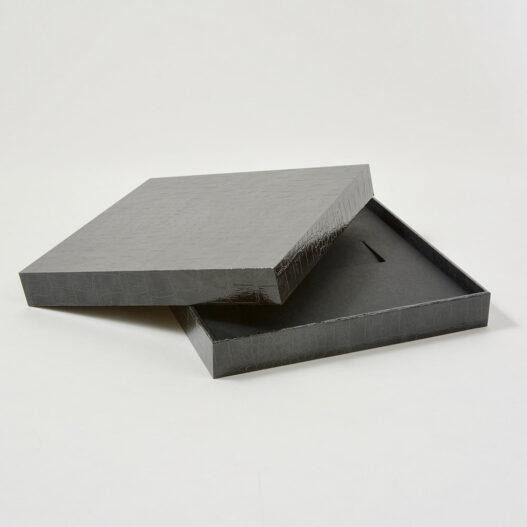 Croco embossed box