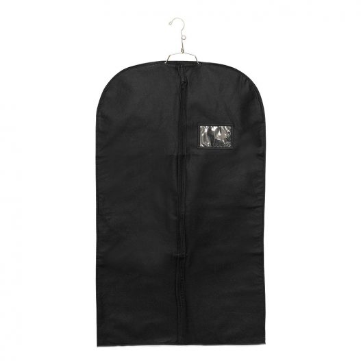 Garment bag non woven window