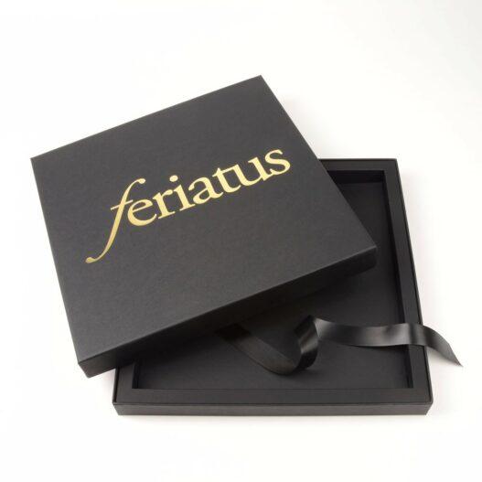 Luxe doos met losse deksel en interieur - Feriatus