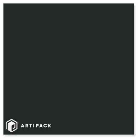 cadeaupapier coated wit zwart glossy