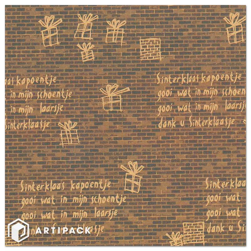 Sint inpakpapier 90036 Sinterklaas kapoentje