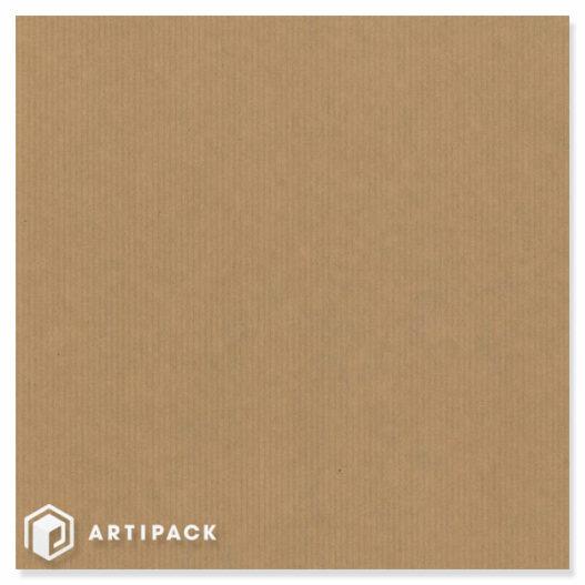 Bruin gestreept natron kraft inpakpapier