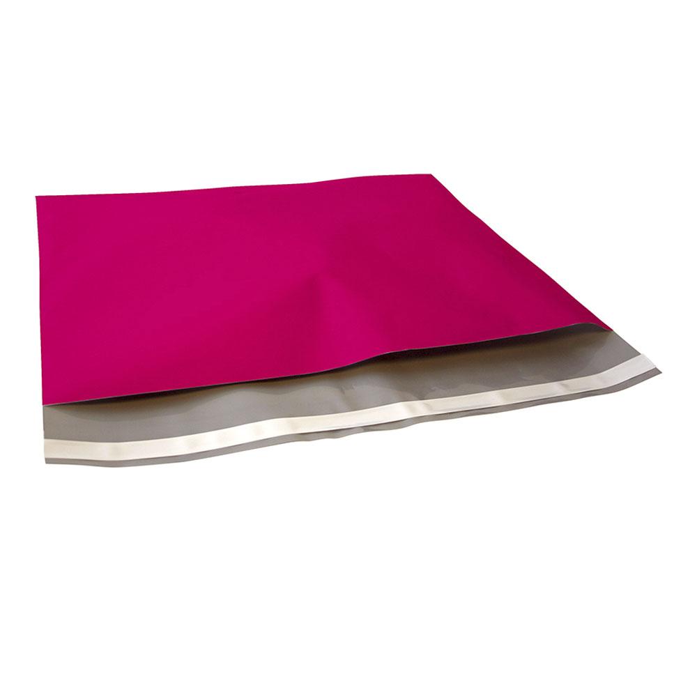 roze plastic verzendzak