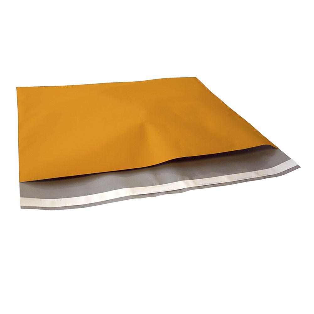 oranje plastic verzendzak
