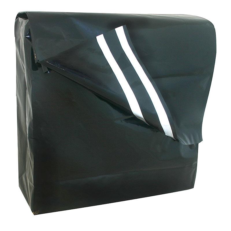 plastic verzendzak zwart