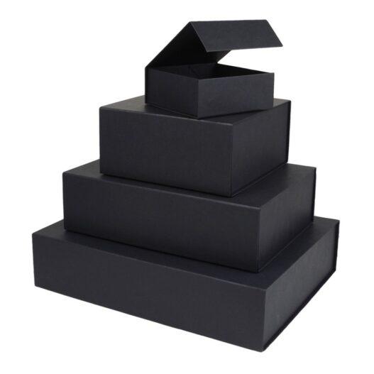 zwarte magneetdozen