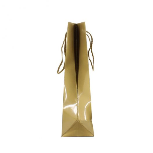 Paper carrier bag - Merry Christmas - gold