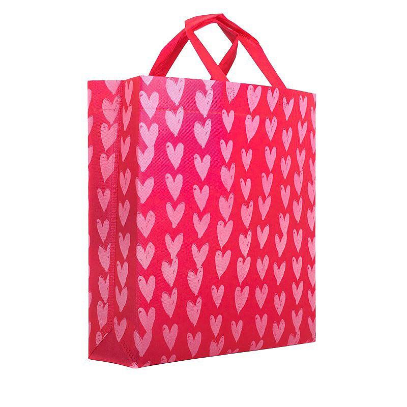 Valentijn tassen opdruk hartjes