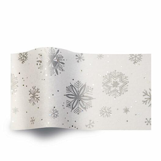 winter vloeipapier diamond snowflakes GS2000B zijdepapier gemstones