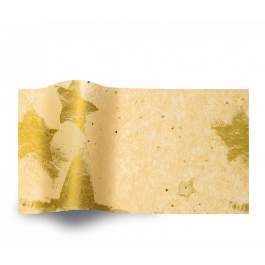 Zijdepapier Gold Celebration gemstones