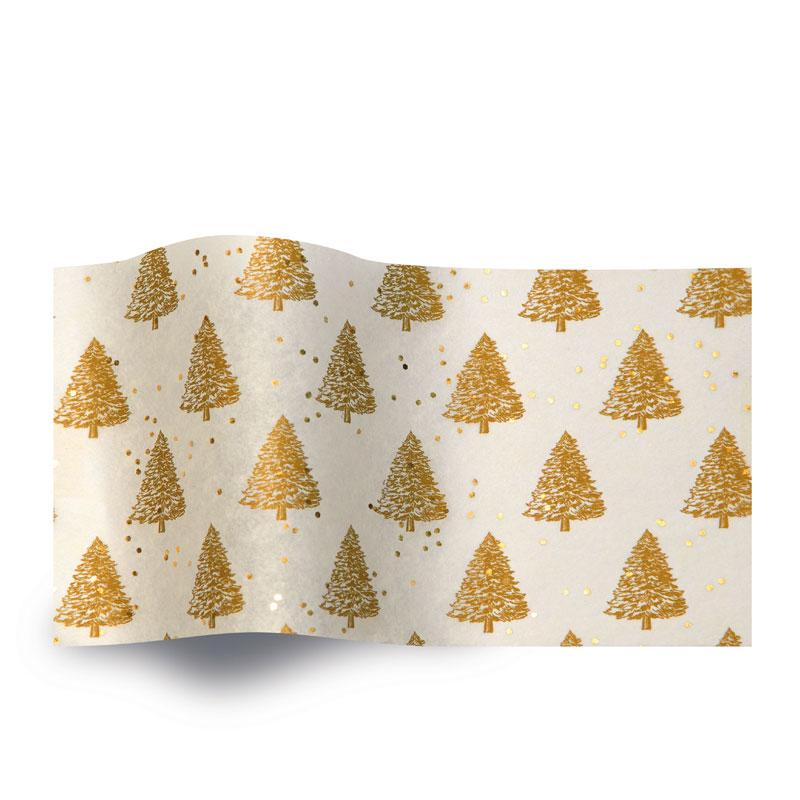 zijdepapier Gold Pearl Trees GS2001B gemstones kerst