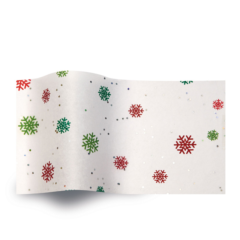 Zijdevloeipapier Just Snowflakes - GS2005B sneeuwvlokken