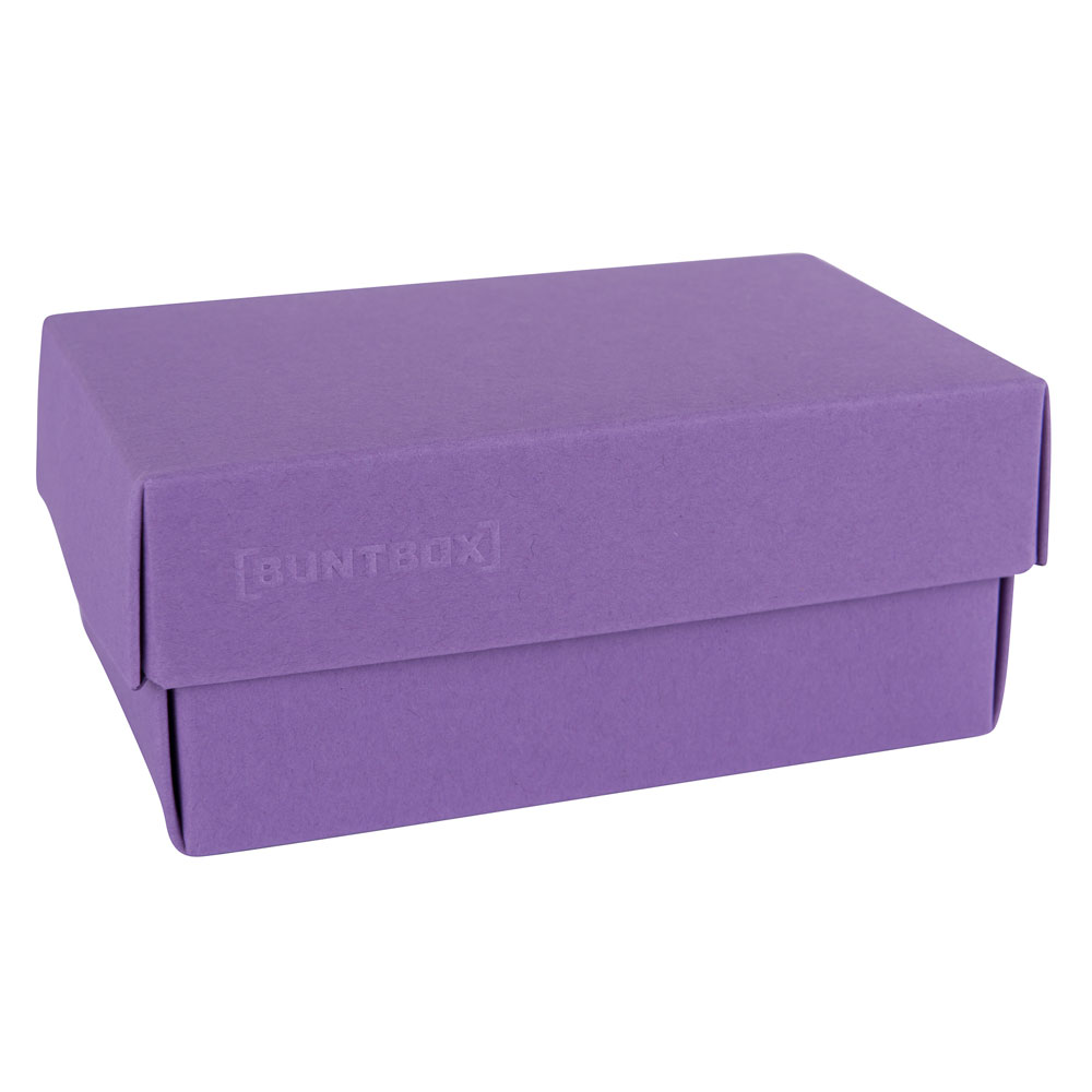 Dozen met losse deksel - Paars (Lavender)