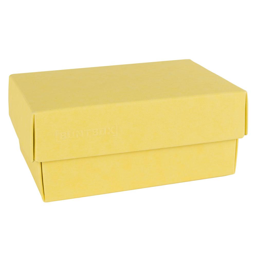 Dozen met losse deksel - Geel (Lemon)
