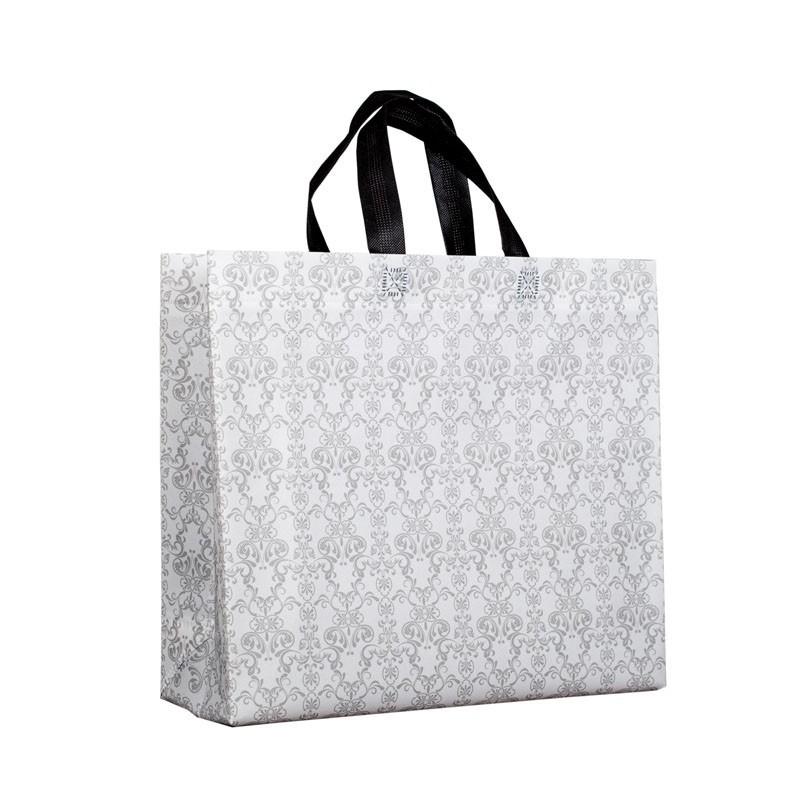 Non Woven Carrier Bag -Damask pattern