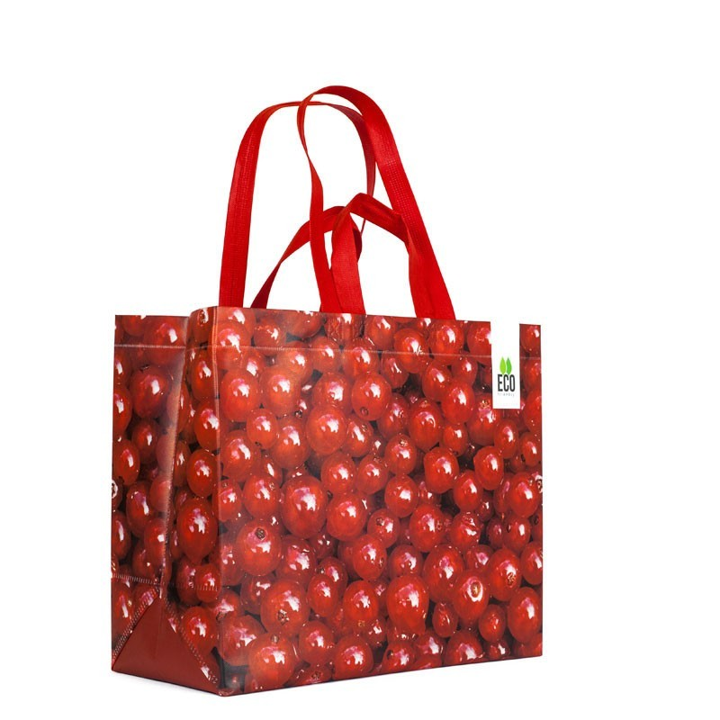 big shopper Cherries print