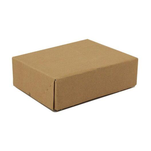 Kartonnen vouwdoos - bruin