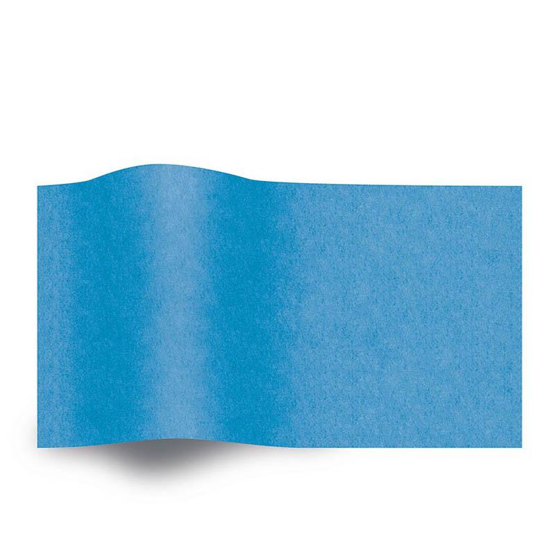 Blauw Vloeipapier Bright Turquoise