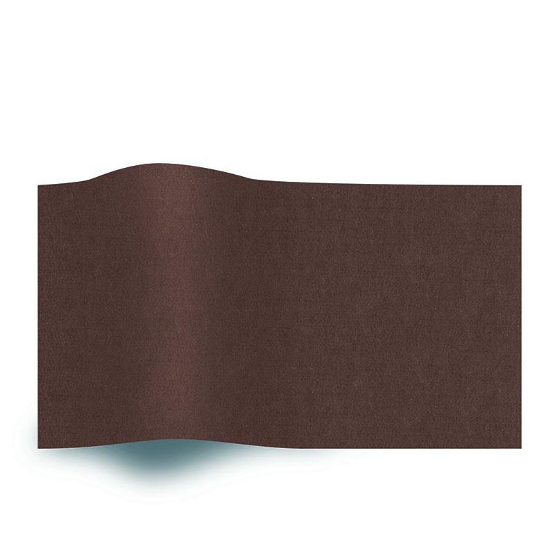 Bruin Vloeipapier Chocolate Brown