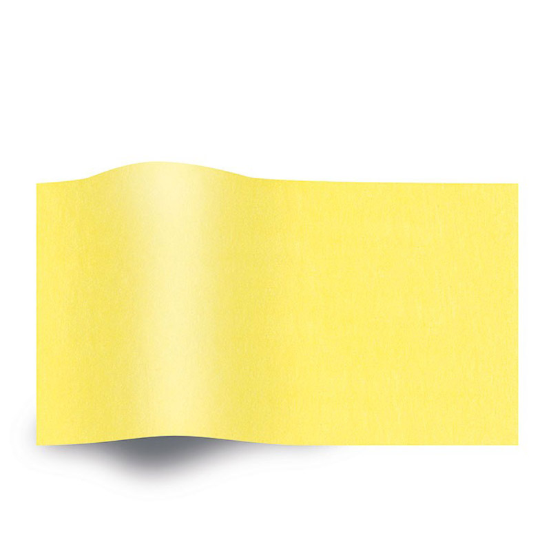 Geel Vloeipapier Yellow