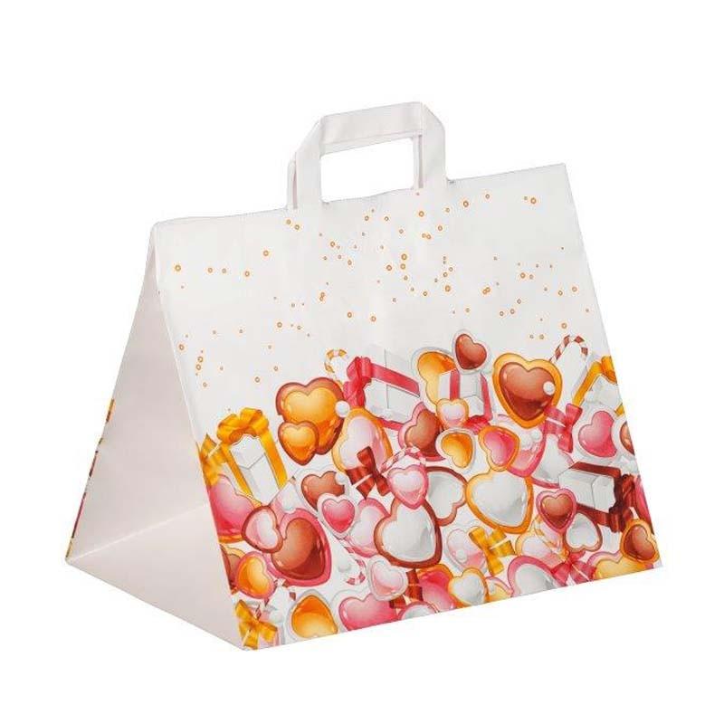 Take Away papieren tas opdruk zoetwaren