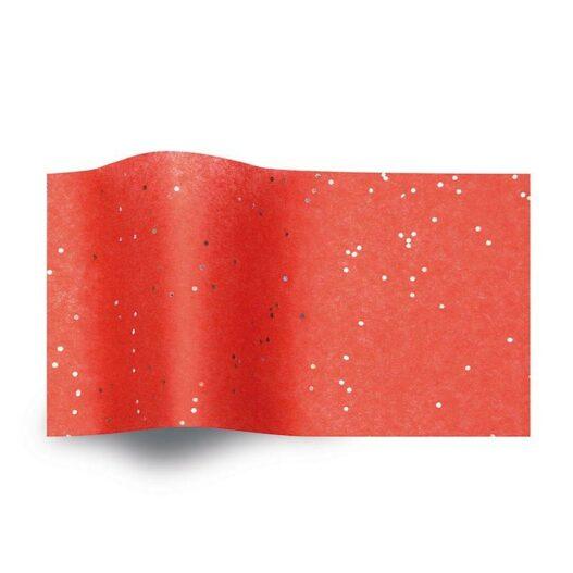 Rood vloeipapier - Gemstones Red