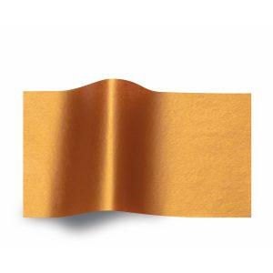 Koperkleurig vloeipapier - Metallic