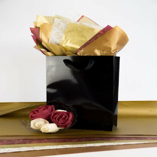 zijdepapier metallic artipack tas