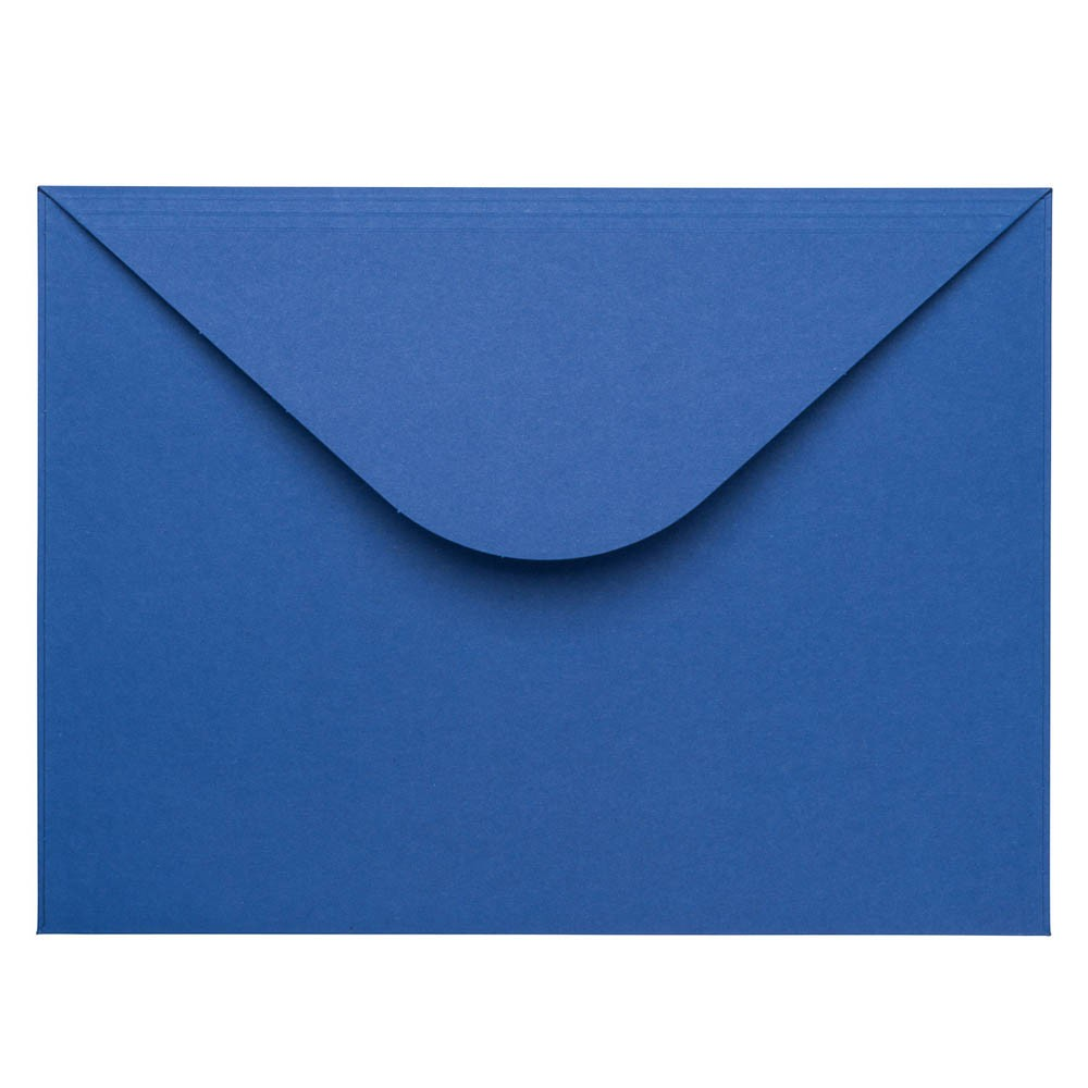 Donkerblauwe envelop