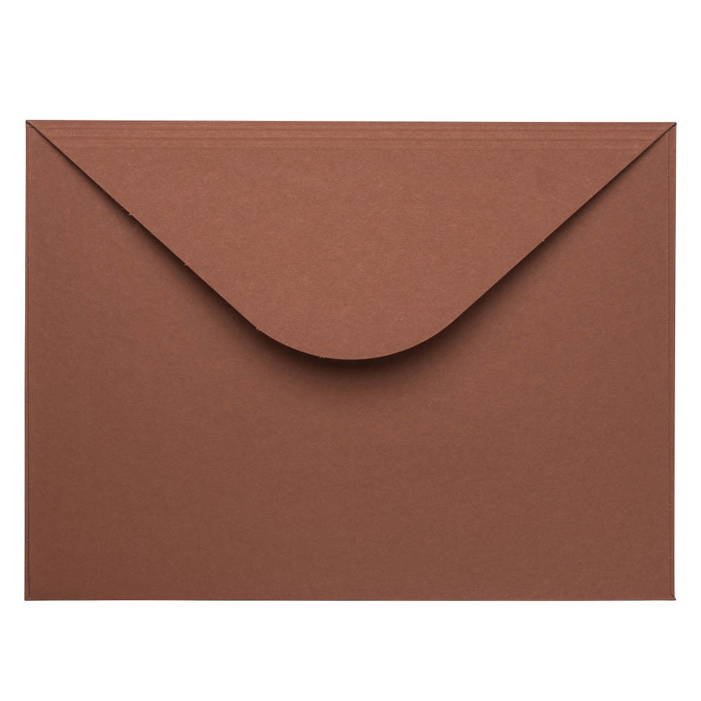 Bruine kartonnen envelop