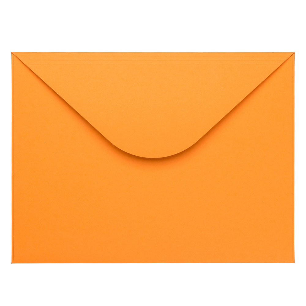 Oranje envelop