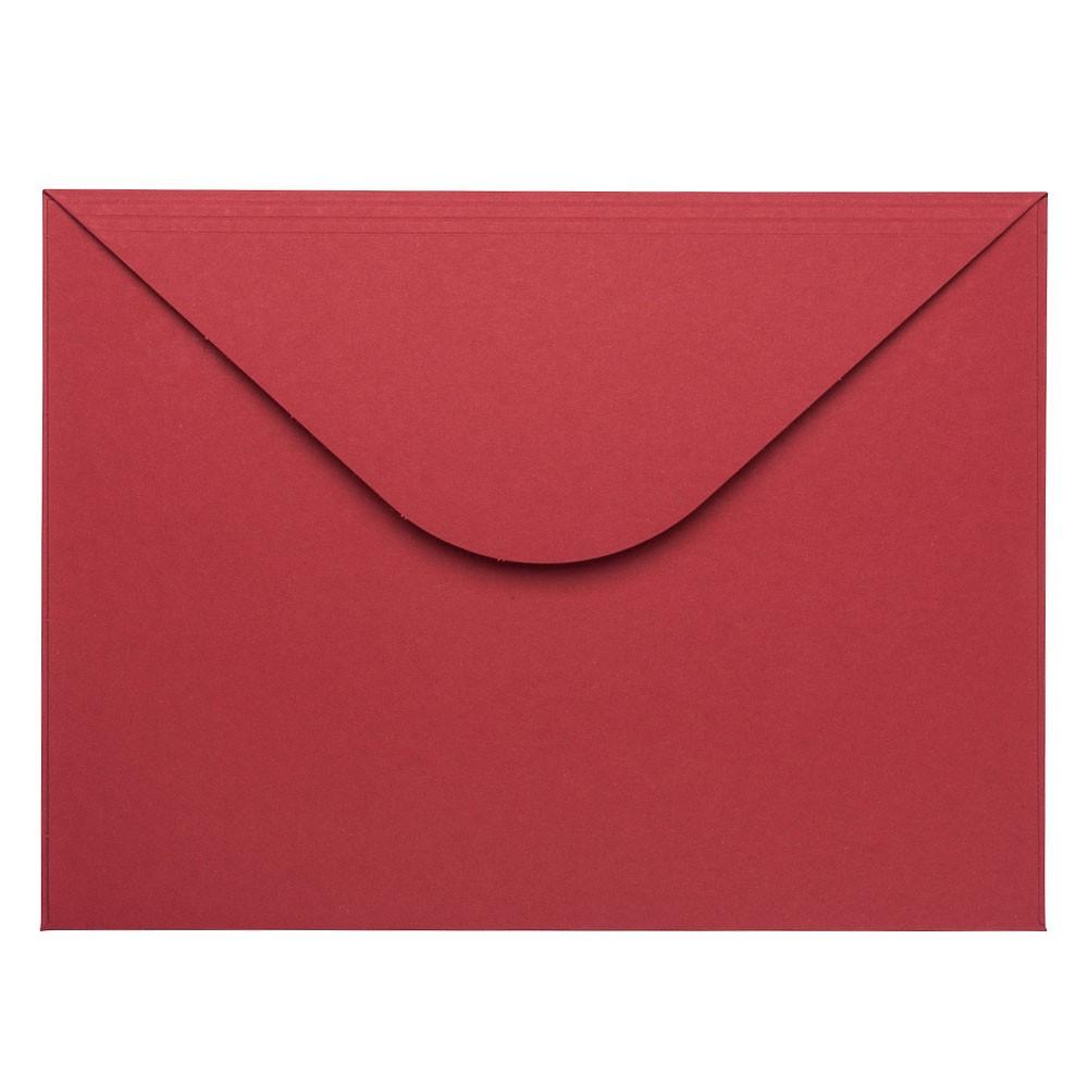 Bordeaux rode enveloppen