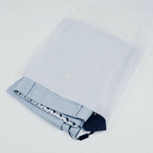 zak van wit zijdepapier
