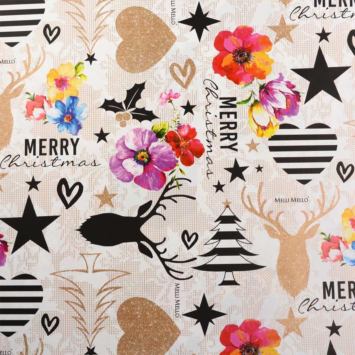 Melli Mello geschenkpapier Merry Christmas