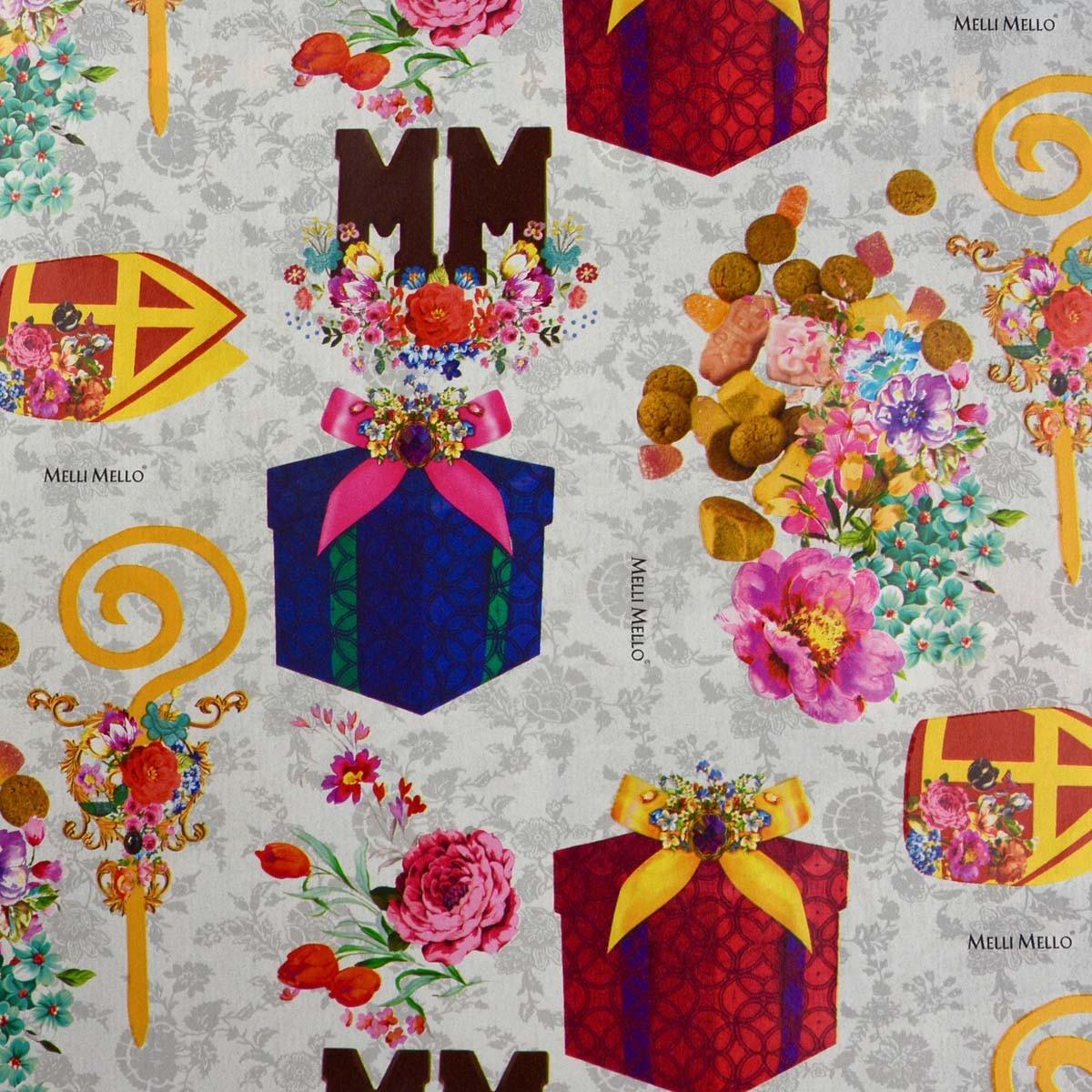 Melli Mello geschenkpapier - Sinterklaas