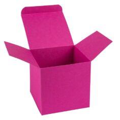 Roze doosje, vierkant