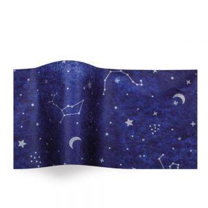 Vloeipapier bedrukt - Night Sky