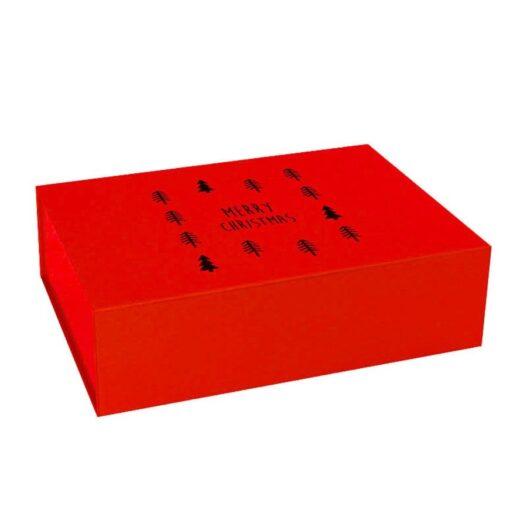 Kerst magneetdozen - Rood